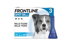 Frontline Spot On Medium Dog Pipettes Pack of 3