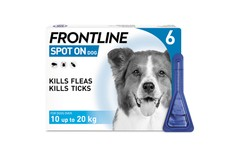 Frontline Spot On Medium Dog Pipettes Pack of 6