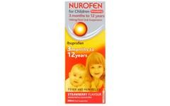 Nurofen For Children Sugar-free Strawberry 200ml