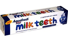 Aquafresh Childrens Milk Teeth Toothpaste 50ml