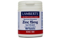 Lamberts Zinc Citrate Tablets 15mg Pack of 180