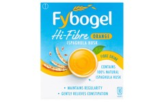 Fybogel Hi-Fibre Orange Flavoured Laxative Sachets Pack of 10