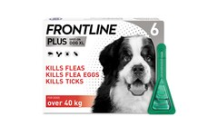 Frontline Plus Spot On Extra Large Dog Pipettes Pack of 6