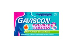 Gaviscon Double Action Mint Flavour Tablets Pack of 24