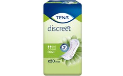 TENA Discreet Mini Pads Pack of 20