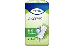 TENA Discreet Normal Pads Pack of 12