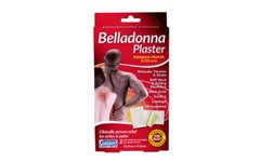 Belladonna Medicated Plaster 12.5cm x 9.5cm Pack of 2