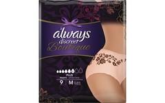 Always Discreet Boutique Pants Plus Medium Pack of 9
