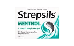 Strepsils Menthol Lozenges Pack of 36