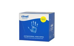 Clinell Antibacterial Hand Wipe Pack of 100