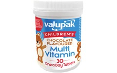 Valupak Children's Chocolate Flavoured Multi Vitamins Pack of 30
