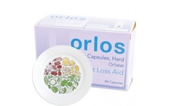 Orlos Capsules (2 x Pack of 84) & The Healthy Portion Plate