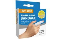 Profoot Finger & Toe Bandage 4 Metre Roll