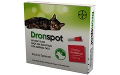 Drontal Dronspot Spot-On Solution for Medium Cats Pack of 2