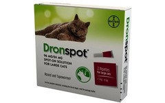 Drontal Dronspot Spot-On Solution for Large Cats Pack of 2