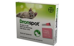 Drontal Dronspot Spot-On Solution for Small Cats Pack of 2