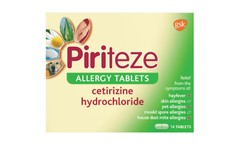 Piriteze Allergy Tablets One-a-day Pack of 14