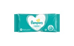 Pampers Baby Wipes Sensitive Pack of 52
