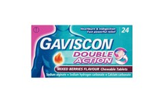 Gaviscon Double Action Mixed Berries Tablets Pack of 24