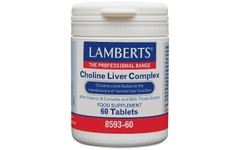 Lamberts Choline Liver Complex Tablets Pack of 60