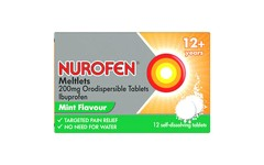 Nurofen Meltlets Orodispersible Tablets Pack of 12