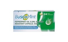 BuscoMint Gastro-Resistant Soft Capsules Pack of 24