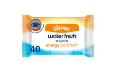 Kleenex Allergy Comfort Water Fresh Wipes Pack of 40
