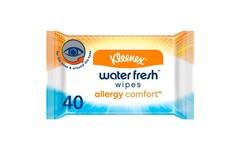 Kleenex Allergy Comfort Water Fresh Wipes Pack of 40