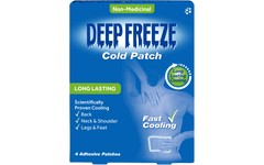 Deep Freeze Cold Patches Pack of 4