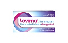 Lovima Daily Contraceptive Tablets Pack of 84