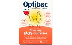 OptiBac Kids Gummies Strawberry Pack of 30