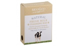 MooGoo Fresh Milk Oatmeal Cleansing Bar 130g