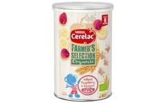 Cerelac Farmers Selection Organic Raspberry & Banana Cereal Snack 35g
