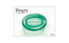 Pears Transparent Soap Lemon Flower Extract 125g