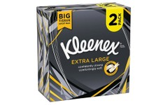 Kleenex Extra Large Tissues Pack of 44 Twin Pack