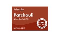 Friendly Soap Patchouli & Sandalwood Soap 95g