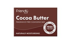 Friendly Soap Cocoa Butter Facial Cleansing Bar 95g