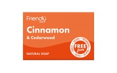 Friendly Soap Cinnamon & Cedarwood Soap 95g