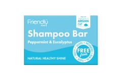Friendly Soap Peppermint & Eucalyptus Shampoo Bar 95g