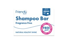 Friendly Soap Shampoo Bar Fragrance Free 95g