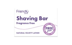 Friendly Soap Shaving Bar Fragrance Free 95g