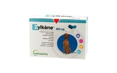 Zylkene Capsules for Large Dogs 450mg Pack of 20