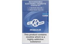 OK Vape Classic Rechargeable Starter Kit Tobacco