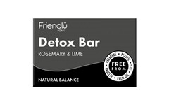 Friendly Soap Detox Bar 95g