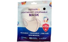Termin8 Lightweight Breathable Face Mask for Kids Pack of 1