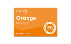 Friendly Soap Orange & Grapefruit Soap 95g