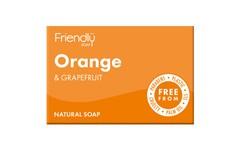 Friendly Soap Orange & Grapefruit Soap 95g