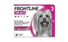 Frontline Tri-Act Spot On Extra Small Dogs Pipettes Pack of 3