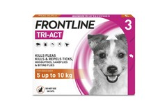 Frontline Tri-Act Spot On Small Dogs Pipettes Pack of 3