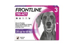 Frontline Tri-Act Spot On Large Dogs Pipettes Pack of 3